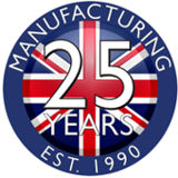 British Manufactured for 25 years